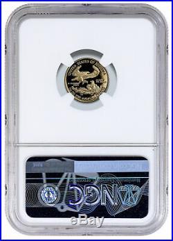 2019W 1/10 oz Gold American Eagle Proof $5 NGC PF70 UC FDI Exclusive SKU57496