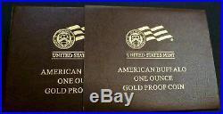2019 $50 American Gold Buffalo 1 oz Brilliant Uncirculated