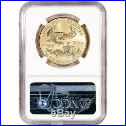 2019 American Gold Eagle 1 oz $50 NGC MS70 Early Releases