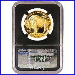 2019-W Proof $50 American Gold Buffalo NGC PF70UC Buffalo ER Label Retro Core
