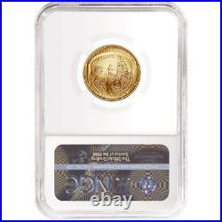 2019-W UNC $5 Gold Apollo 11 50th Ann NGC MS70 FDI First Label