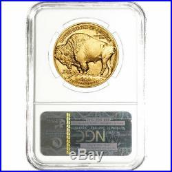 2020 $50 American Gold Buffalo NGC MS70 Brown Label