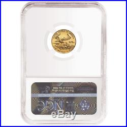2020 $5 American Gold Eagle 1/10 oz. NGC MS70 Brown Label