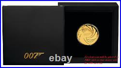 2020 James Bond 007 Proof $50 1/4oz. 9999 Gold COIN NGC PF 70 PF70 Brown Label