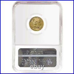 2021 $5 American Gold Eagle 1/10 oz. NGC MS70 Black ER Label