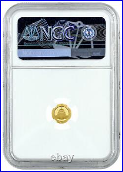 2021 China 1 g Gold Panda ¥10 Coin NGC MS70 FR WC Temple of Heaven Label PRESALE