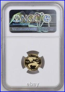 2021 W 1/10 oz $5 Proof Gold Eagle NGC PF70