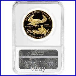 2021-W Proof $50 Type 1 American Gold Eagle 1 oz. NGC PF70UC FDI First Label