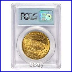 $20 Gold Double Eagle Saint Gaudens NGC/PCGS MS 63 (Random Year)