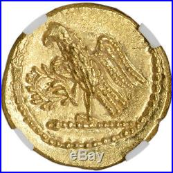 After 54 BC Thracian or Scythian Coson AV Stater Ancient Gold Coin NGC Ch MS