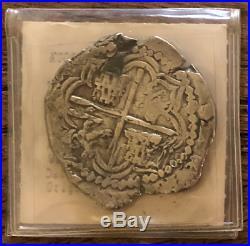 Atocha 1622 Shipwreck Fisher Grade 1 Bolivia 8 Reales Pirate Gold Coins Silver