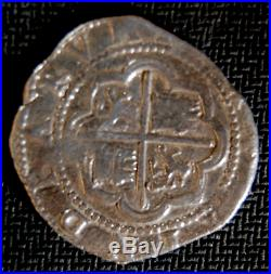 Atocha Mel Fisher Lima Star Peru 2 Reales 1598-1621 Pirate Gold Coins Silver
