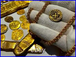 Colombia 1747-56 2 Escudos Ngc 50 Pirate Gold Coins Treasure Coin Cob Jewelry