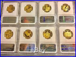 Complete Set First Spouse Gold $10 Ngc Pf 70 Ultra Cameo