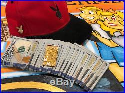 Hugh Hefner Playboy Personal Money Clip Solid Gold Pirate Gold Coins Memorabilia