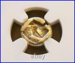 Ionia, Phocaea Bulls Head Hecte NGC XF 4/4 Ancient Gold Coin
