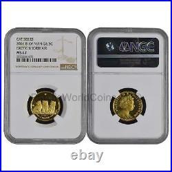 Isle of Man 2006 Cat Series Exotic Shorthair 1/5 oz Gold NGC MS67 SKU#6289