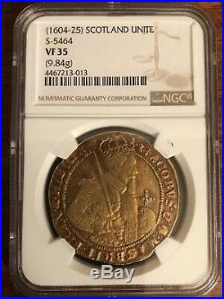 King James I Gold Unite Hammered Coin
