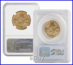 Lot of 2 $25 1/2oz American Gold Eagle MS69 PCGS or NGC (Random Date)