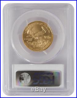 Lot of 2 $25 1/2oz American Gold Eagle MS70 PCGS or NGC (Random Date)