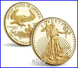 NGC PF70 2021-W 1 oz Proof Gold American Eagle One Ounce PRESALE