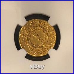 Nero, AD 54-68 Roman Empire AV Aureus rv EX SC in Oak Wreath Gold Coin