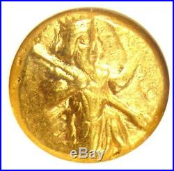 Persia Sardeis in Lydia AV Daric Gold Bible Hero Coin 450 BC Certified NGC AU
