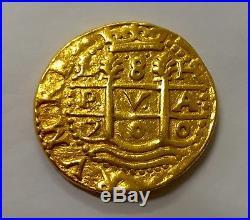 Peru 1700 8 Escudos Ngc 1715 Fleet Shipwreck Treasure Pirate Gold Coin Doubloon