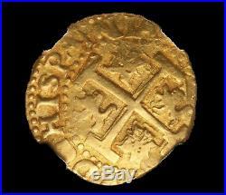 Peru 1715 Fleet Emeralds 8 Escudos Pendant Necklace Jewelry Pirate Gold Coins