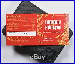 Rare! 2017-p 2 Oz Gold Dragon & Phoenix Ngc Pf 70 Uc Hr $6,288.88
