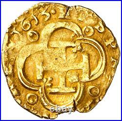 Spain 2 Escudos 1613 Atocha Era Full Date! Pirate Gold Coins Shipwreck Treasure