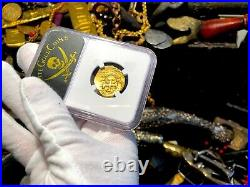 Spain 2 Escudos 1622 Dated Year Of Atocha Ngc 58 Pirate Gold Coins Treasure