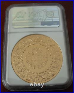 Turkey 1967 Gold 500 Kurush NGC MS62 Monnaie De Luxe