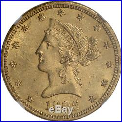 US Gold $10 Liberty Head Eagle NGC MS61 Random Date