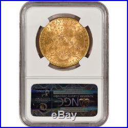 US Gold $20 Liberty Head Double Eagle NGC MS61 Random Date